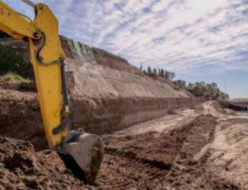 Mundo Construcciones y Dinale avanzan las obras de reconstrucción del Paseo de la Libertad