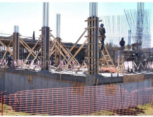 Avanza a buen ritmo la construcción del edificio de la Secretaría de Energía